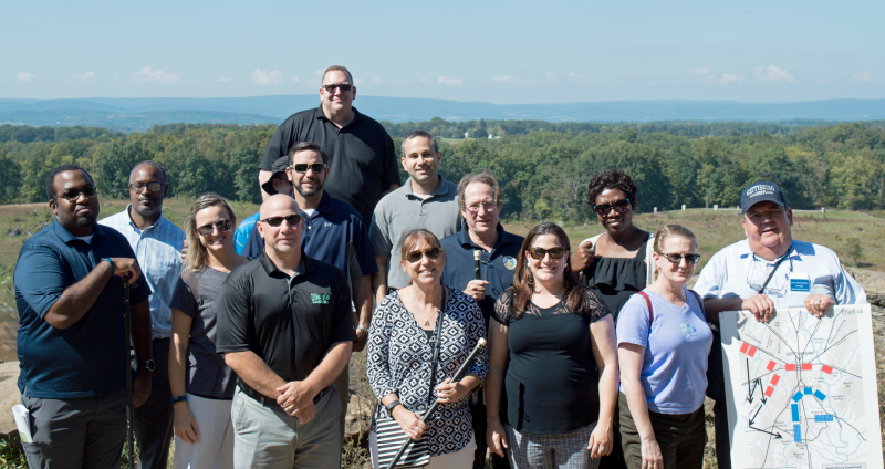 CIGIE Fellows Cohort Activity – Gettysburg Leadership Tour, September 2017